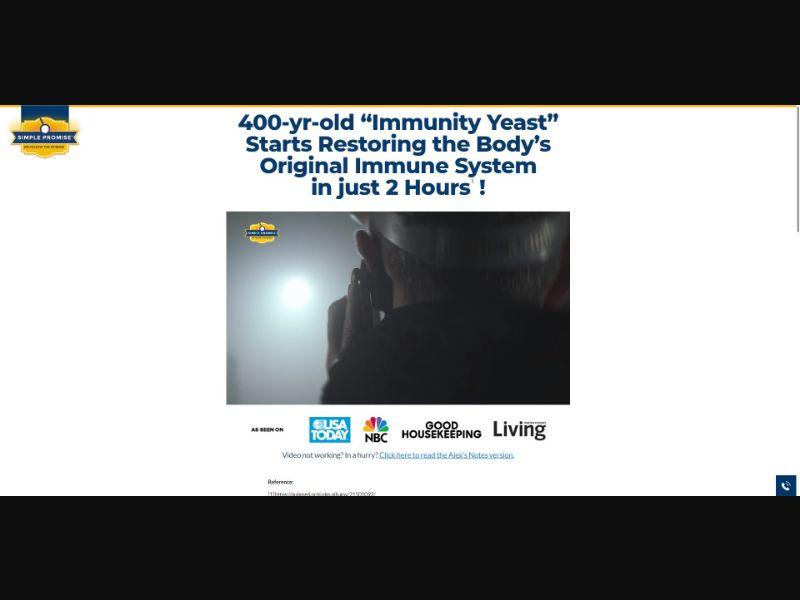 Simple Promise Epishield Plus - VSL - Health - SS - NO SEO - [US]