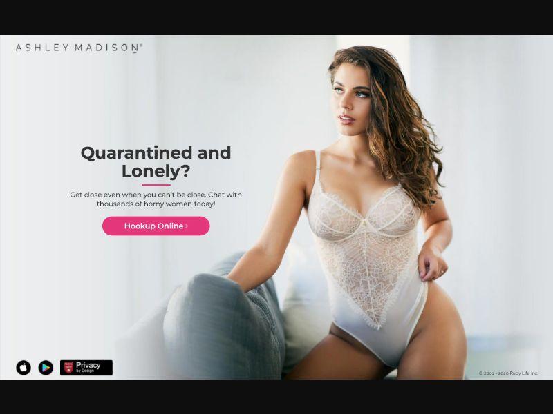 AshleyMadison Milf - CPL SOI - AU - Sexy Dating - Responsive
