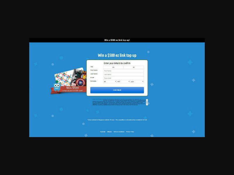 EZ Link Card (SOI) SG