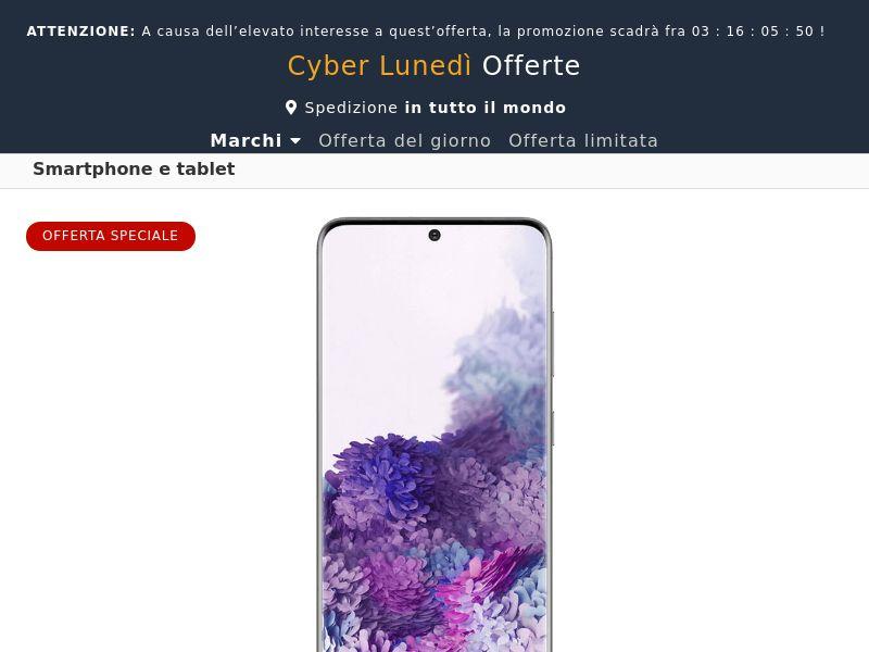 Samsung Galaxy S20 (Amazon) - IT