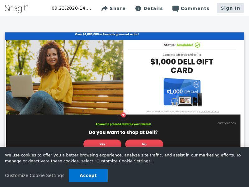 Dell $1000 - SOI | US