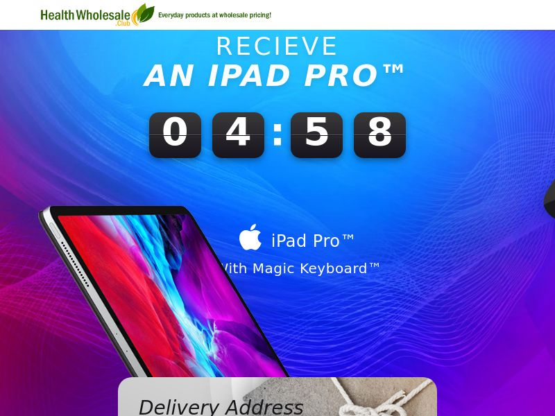 iPad Pro with Magic Keyboard - UK (Sweeps)