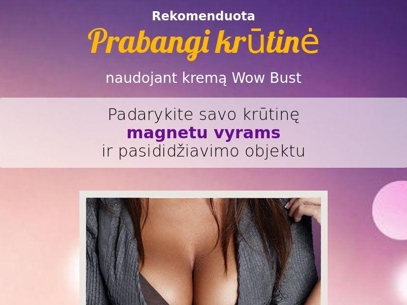 Wow Bust LT - breast enhancement cream