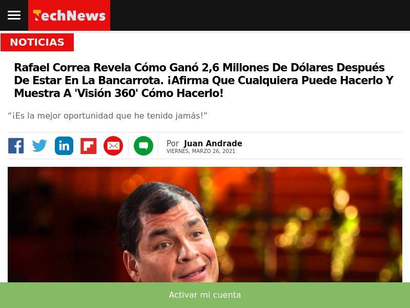 Bitcoin Profit + Rafael Correa CPA FD EC [prelend]