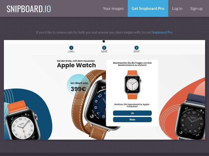 38580 - DE - WildLeads - Apple Watch series 6 - SOI