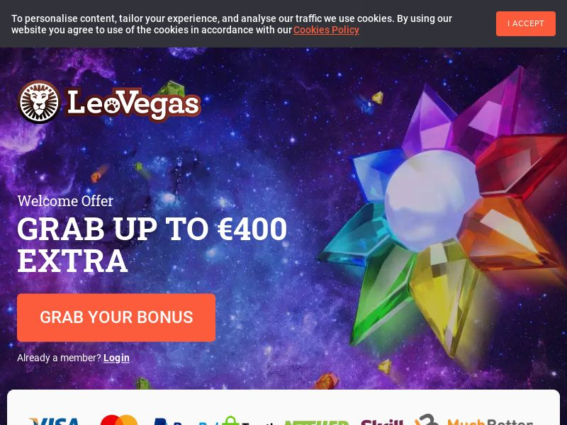 LeoVegas Online Casino (JP) (CPS) (Personal Approval)