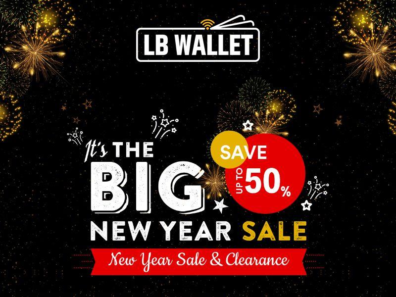 Louis Blanc Wallet - Tracking Wallet - CPA - Special New Year LP - [INTERNATIONAL]