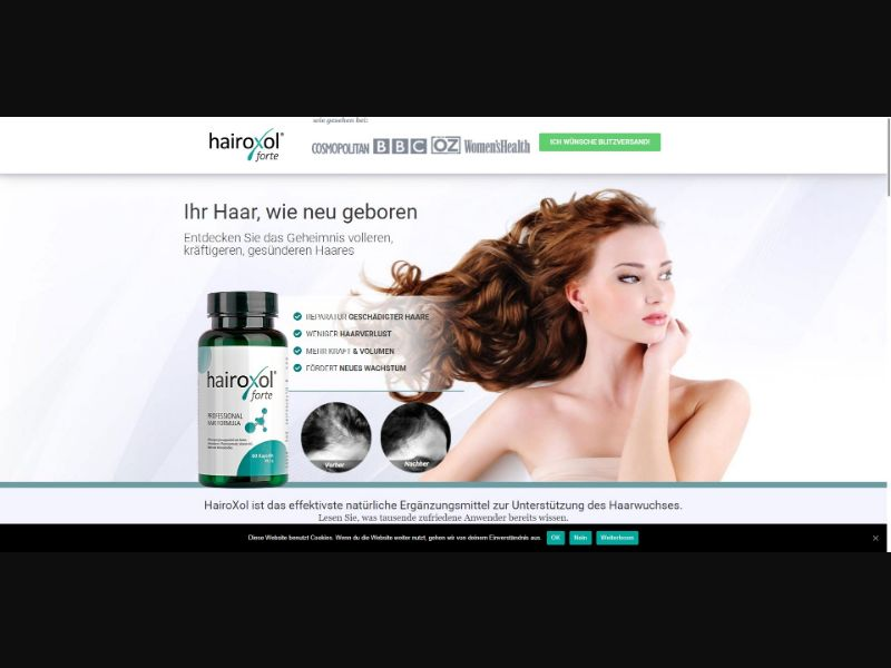 Hairoxol Forte - Hair Products - SS - [DE, AT, CH]