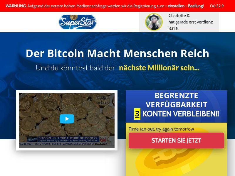 Bitcoin Superstar CPA DE CH AT