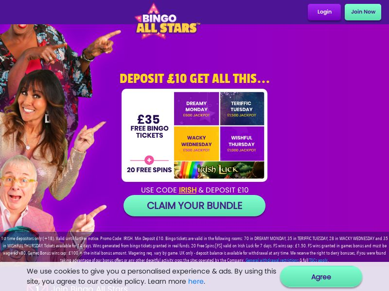 Bingo All Stars - UK