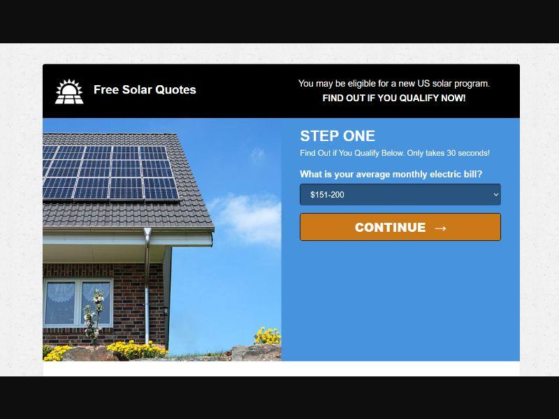 Free Solar Quotes US   CPA