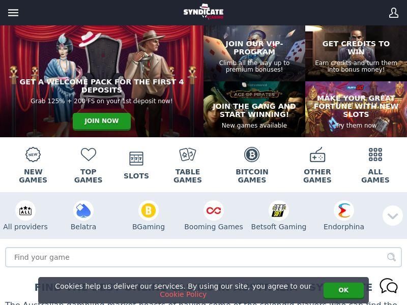 Syndicate Casino - IT (IT), [CPA]