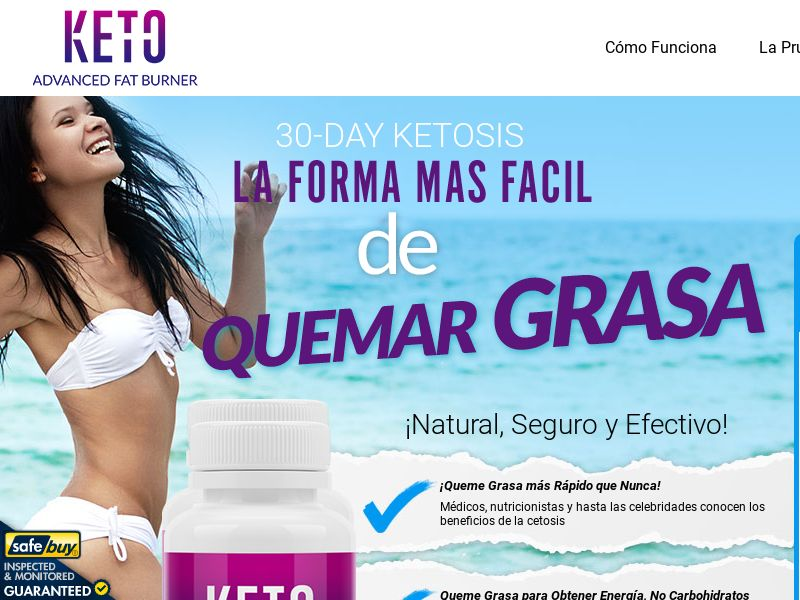 Keto Advanced Fat Burner - ES Spanish