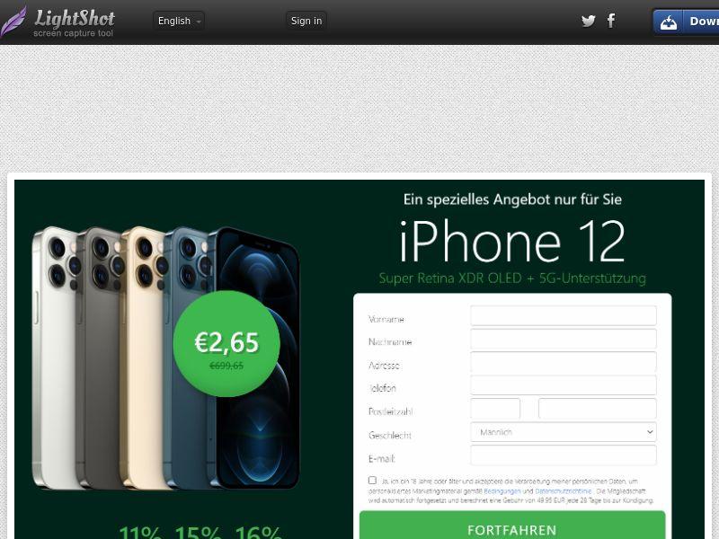 trophaeenjaege iPhone 12 (Green) (CC Trial) - Germany