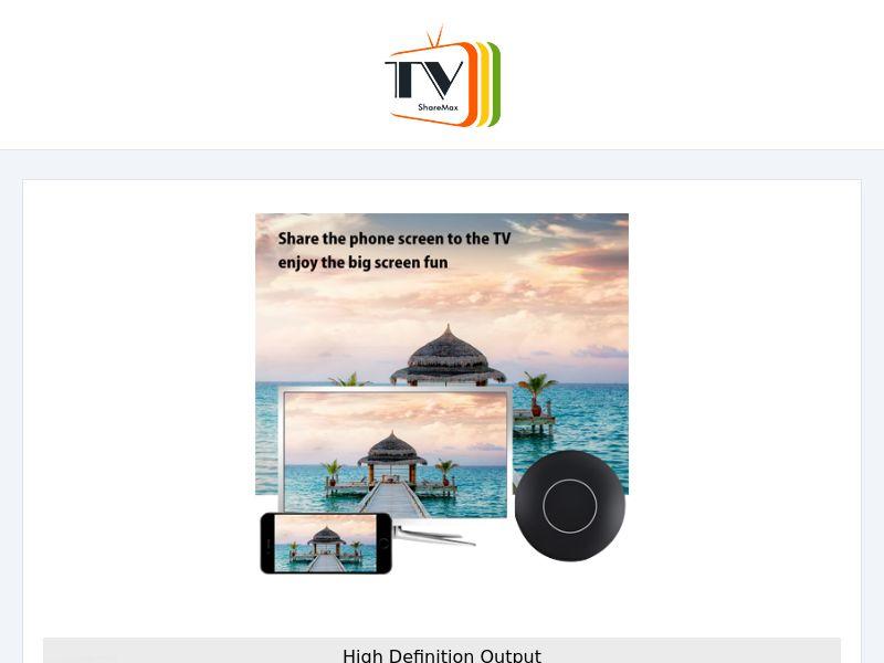 TVShare - HD Screen Sharing - CPA - Desktop & Mobile [INTERNATIONAL]