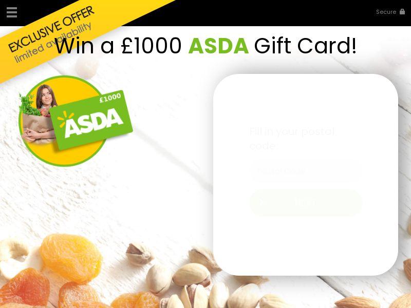 Win a asda gift card - UK