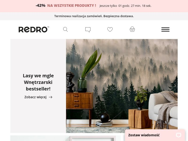 Redro - PL (PL), [CPS], House and Garden, Home decoration, Sell, shop, gift