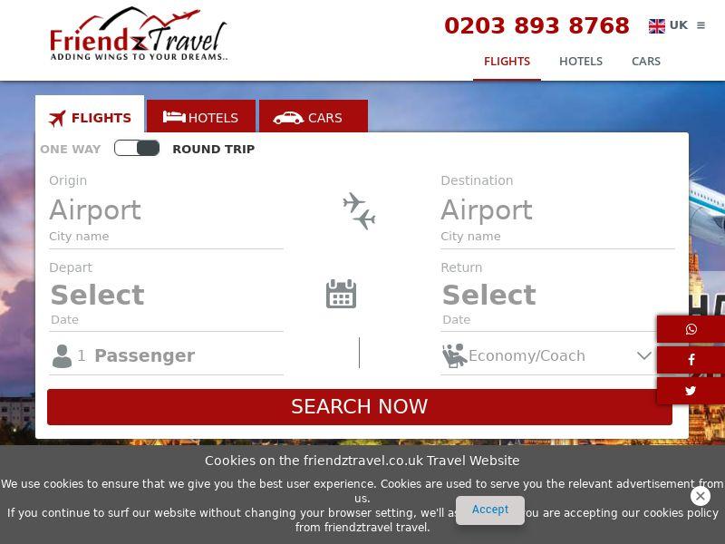 Friendz Travel - UK (GB), [CPA]