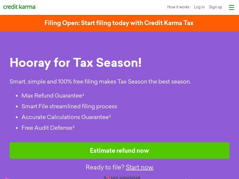 US - Credit Karma Tax 2021