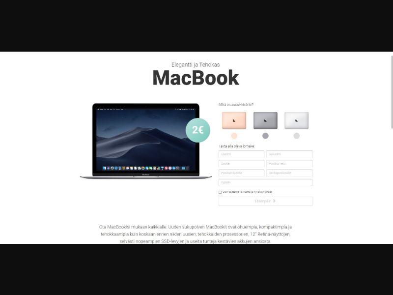 MacBook - Sweepstakes & Surveys - Trial - [FI]