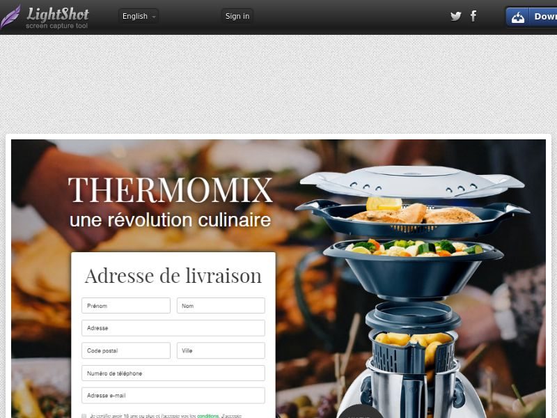 Click Thermomix - Trial - FR