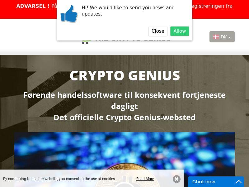 Crypto Genius Danish 2424