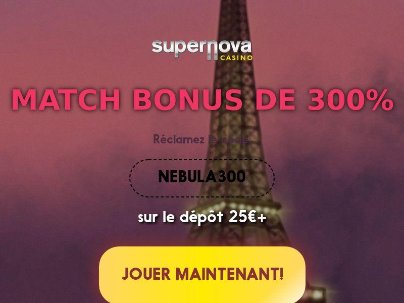 Supernova Casino CPA FR