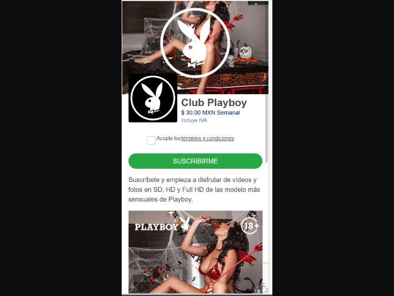 MX - Playboy models (Telcel only) [MX] - 1 click