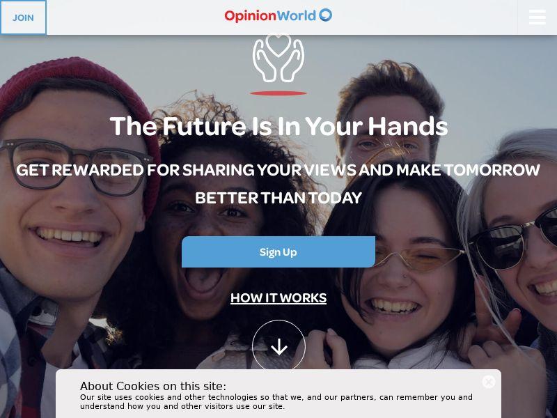 Opinion World - Survey - HK (HK), [CPA]