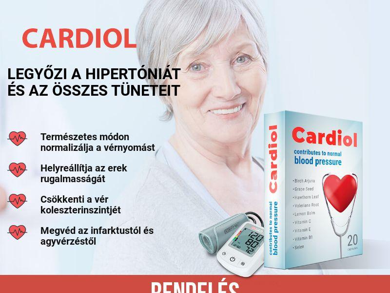 Cardiol HU - pressure stabilizing product