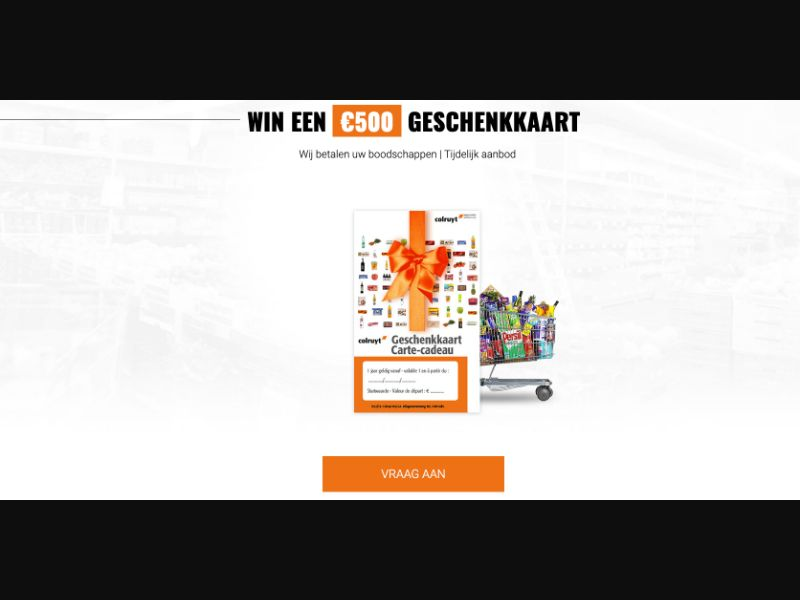 Colruyt - CPL SOI - BE - Sweepstakes - Responsive