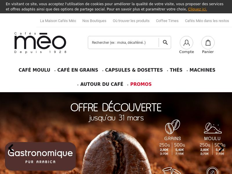Cafés Méo - FR (FR), [CPS], Health and Beauty, Food, Sell, coronavirus, corona, virus, keto, diet, weight, fitness, face mask