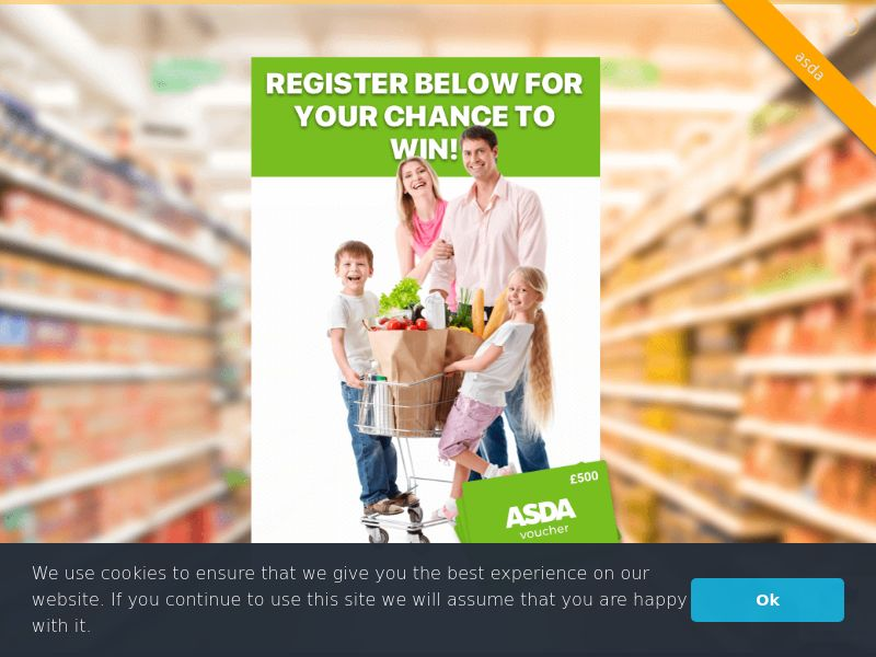 Asda (GB), [CPL], Health and Beauty, Food, Lotteries and Contests, Single Opt-In, coronavirus, corona, virus, keto, diet, weight, fitness, face mask, paypal, survey, gift, gift card, free, amazon
