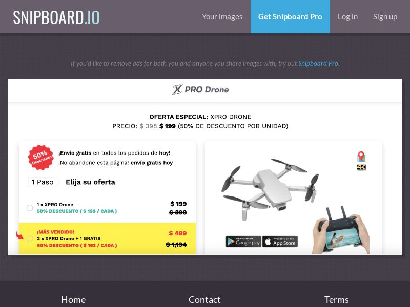 40107 - ALL - E-Commerce - XPRO Drone INTL - WW - CPS