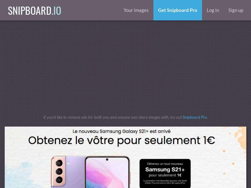 MyeBooky - Samsung Galaxy S21 Plus LP63 FR - CC Submit