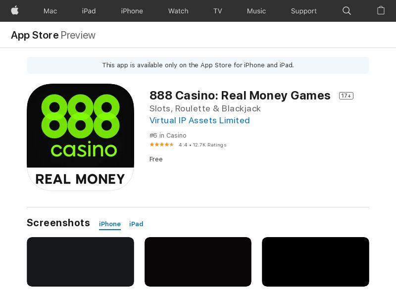 GB - [UK] 888 Casino_CPE(First-time deposit)_iOS_DA_Jan_G_4727 - - (SCAPI)