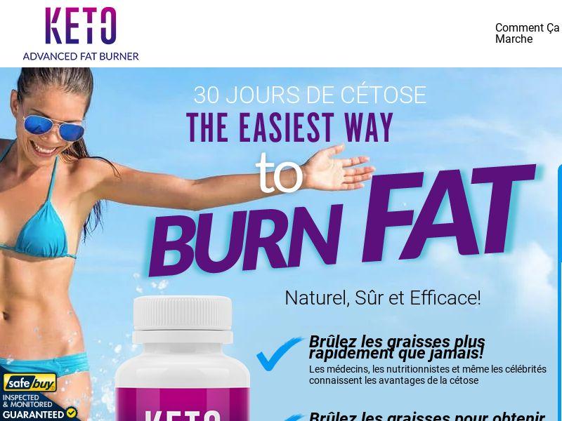 Keto Advanced Fat Burner SS - EN INTL
