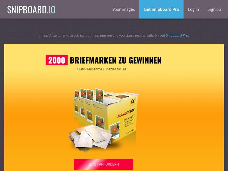 37315 - DE - LeadsWinner - Deutsche Post - SOI