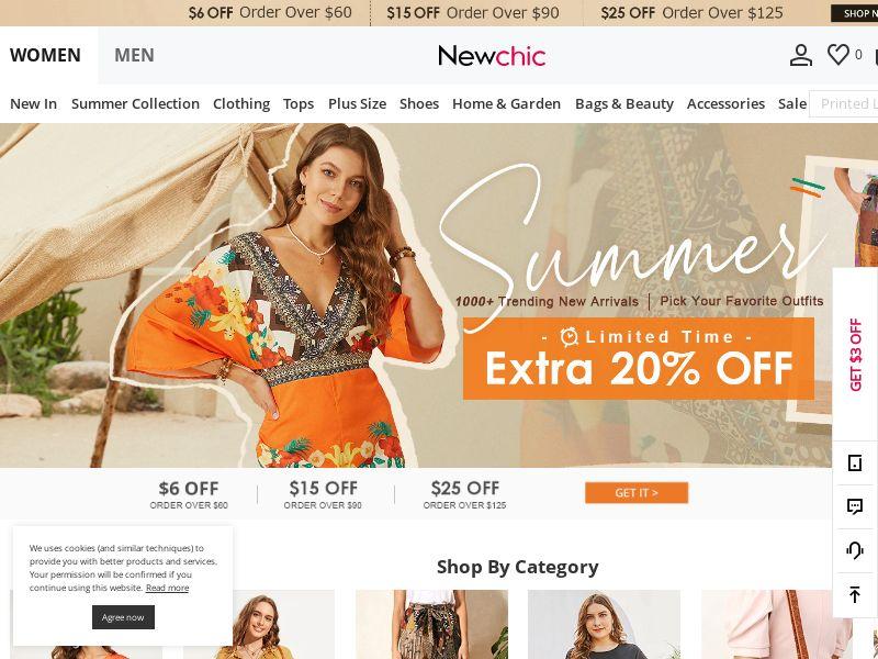 Newchic 2.0 (MultiGeo), [CPS]