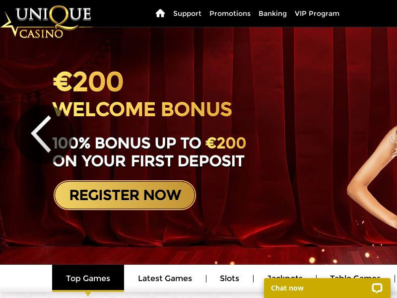 Unique Casino VIP (CPL) (FR) (NL) (IT) (ES)