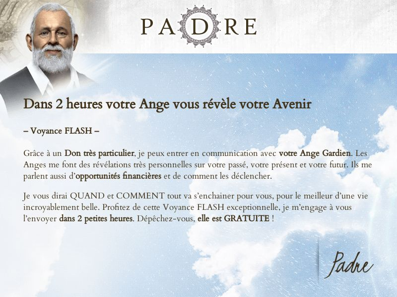 12527) [EMAIL] Padre - FR - CPL