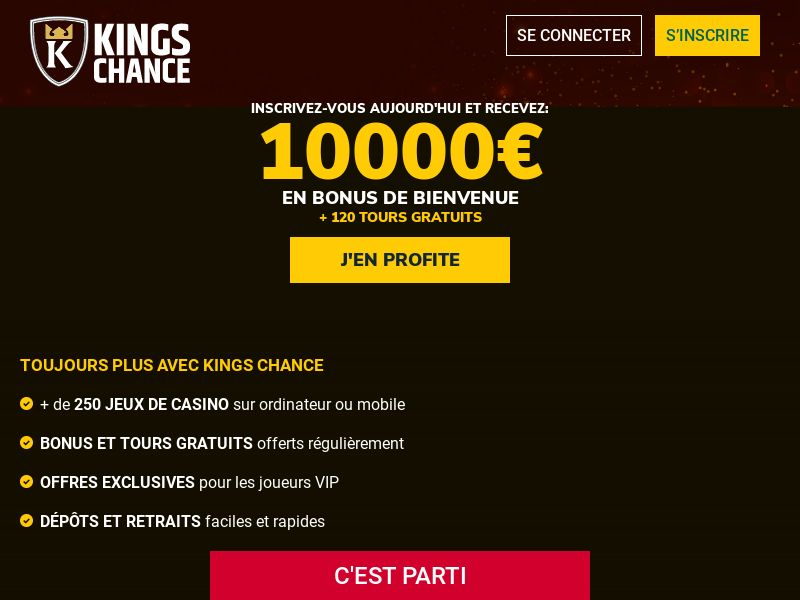 Kings Chance - FR - (CPA)