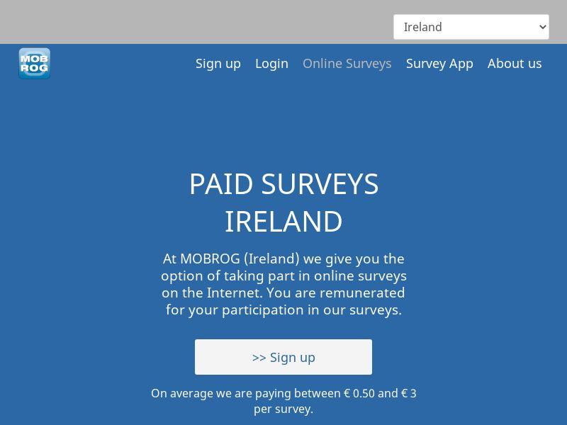 MobRog Online Surveys [IE]