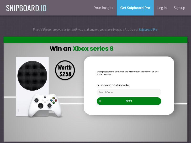 38474 - AU - YouSweeps - Win an Xbox series S - SOI