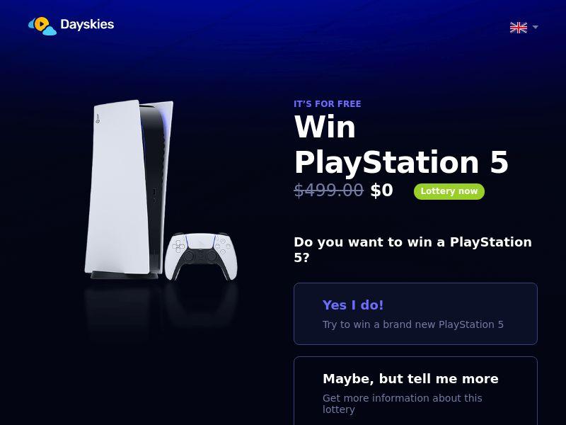 Dayskies - PlayStation 5 (INTL) (Trial)