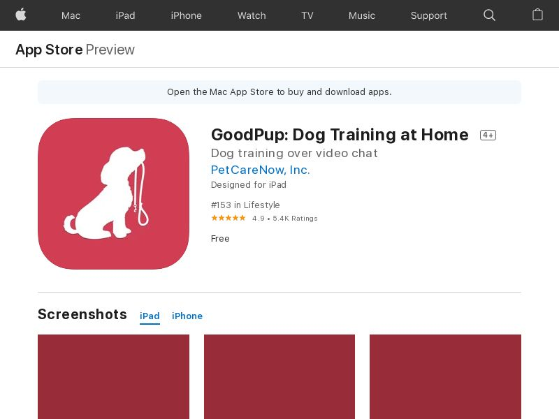Good Pup - iOS (US) (KPI) (IDFA) (APP Name)