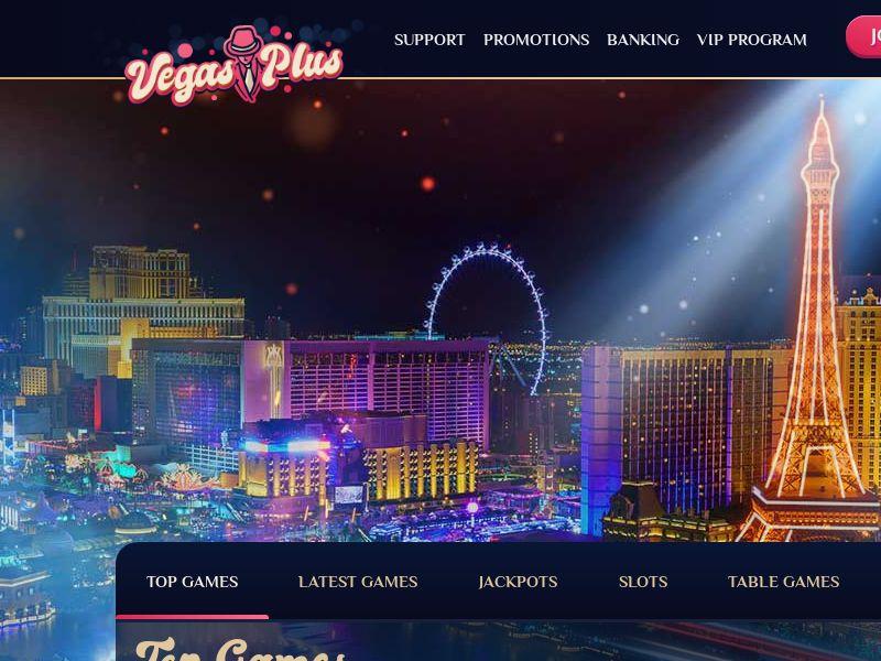 Vegas Plus Casino - $750 Welcome Bonus - CPL - CA