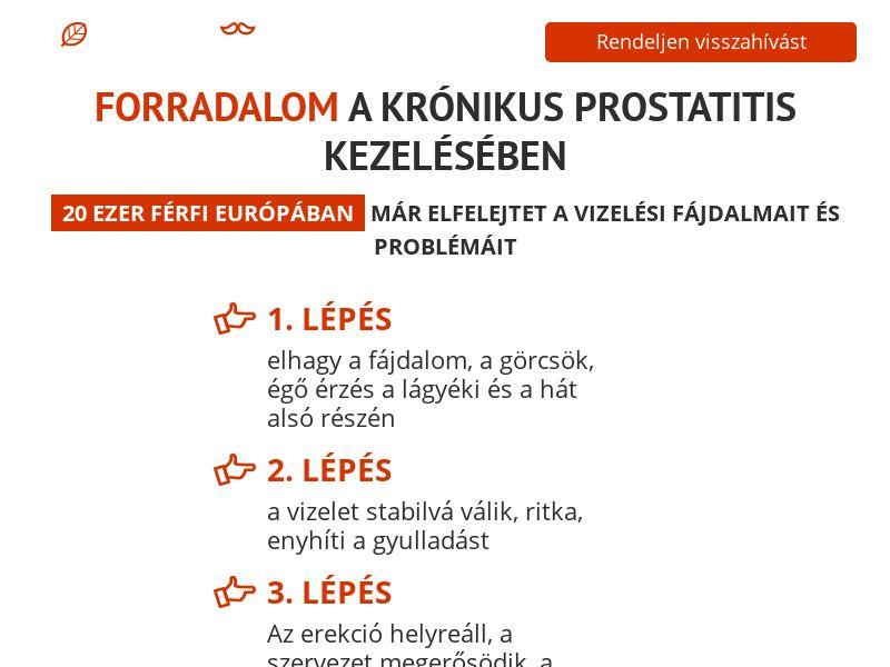 ProstEro HU - prostatitis, adenoma and hyperplasia product
