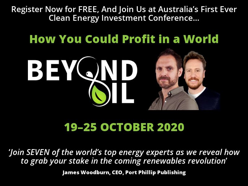AU - Beyond Oil 2020 - Email