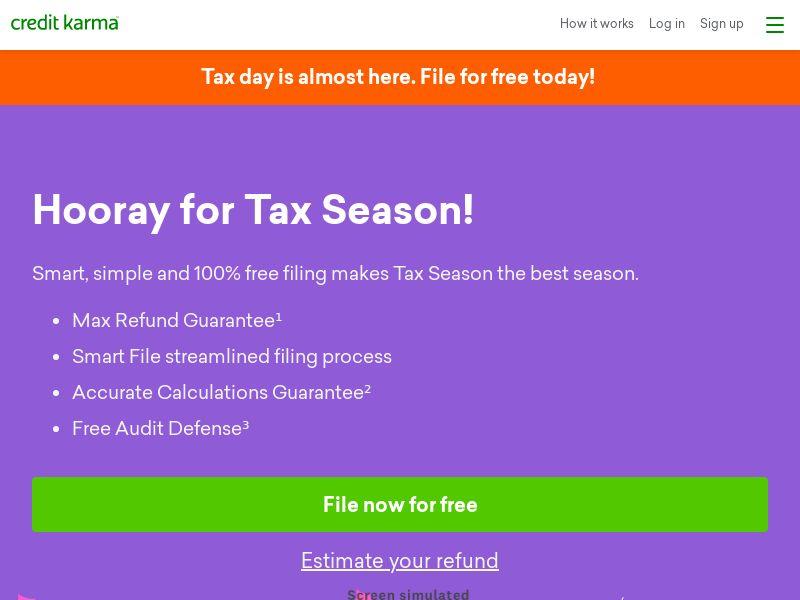 Credit Karma Tax 2021 - CPL - US